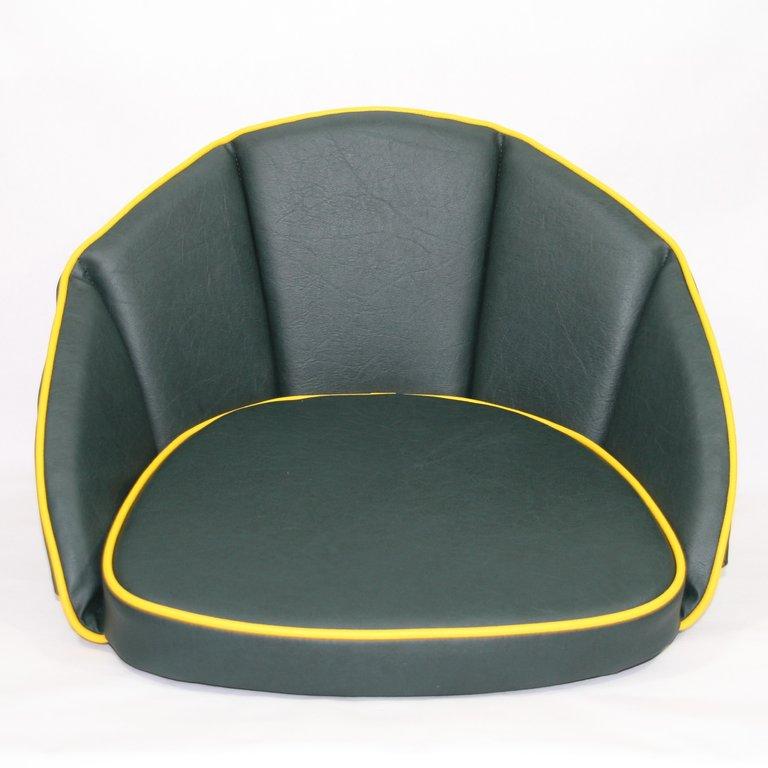sitzkissen gr n keder gelb 500163 oldtimer kuepper. Black Bedroom Furniture Sets. Home Design Ideas