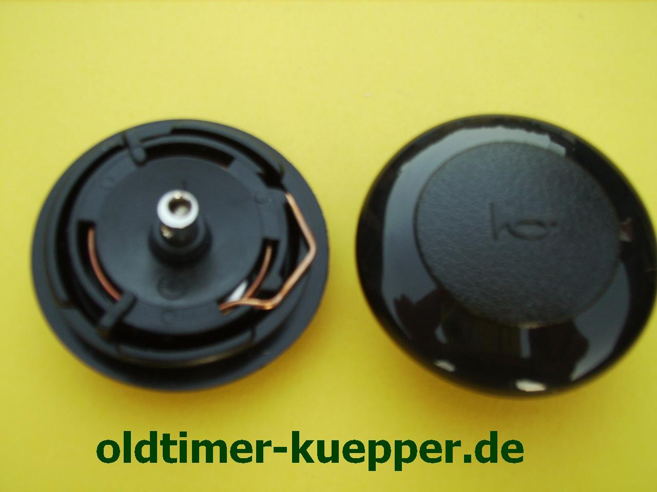 Hupenknopf Hupe Kunststoff Lenkradknopf Ersatz Hupenknopf f/ür den gr/ö/ßten Teil des Lenkrads Metall