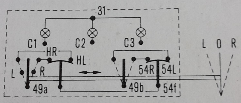 Schaltplan Blinker Traktor Oldtimer